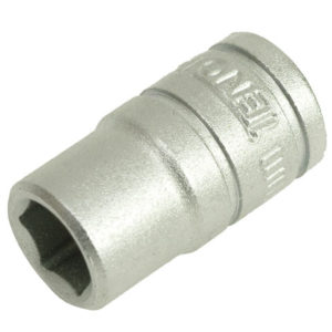 Hexagon Socket 6 Point Regular AF 1/4in Drive 1/2in