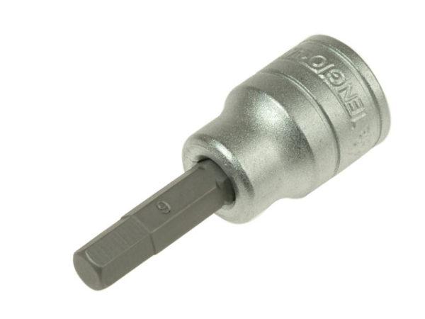 S2 Hex Socket Bit 3/8in Drive 6mm