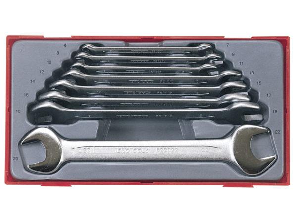 TT6208 8 Piece Metric Open End Spanner Set