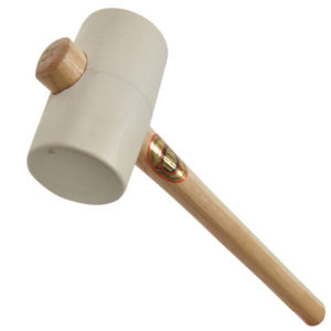 953W White Rubber Mallet 64mm 675g