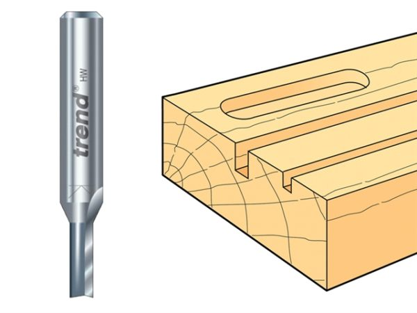 3/84L x 1/2 TCT Two Flute Pocket Cutter 12.7mm