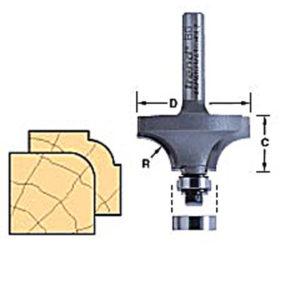 46/130 x 1/4 TCT Bearing Guided Ovolo & Round Over 6.3mm Radius