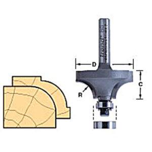 46/150 x 1/4 TCT Bearing Guided Ovolo & Round Over 12.7mm Radius