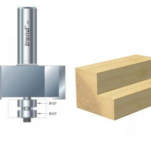 46/390 x 1/2 TCT Bearing Guided Rebater 22.5mm x 50.8mm