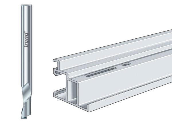 50/06 x 8mm HSSE Helical Plunge Bit 6mm