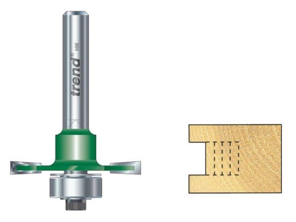 C145 x 1/4 TCT Bearing Guided Slotting Cutter 6.3mm