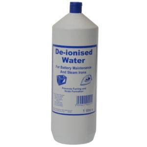 De-ionised Water 1 litre
