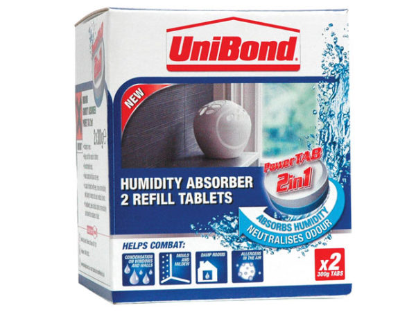 Small Moisture Absorber Neutral Power Tab Refill (Pack of 2)