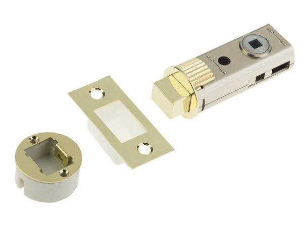 FastLatch Easy Fit Bolt Brass 60mm (2.5in)