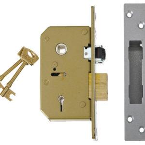 3K75 C-Series 5 Lever Sashlock Brass 80mm