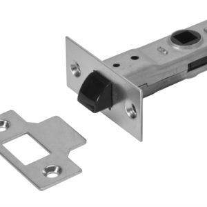 J2600 3.0 Tubular Latch Essentials Zinc Plated 79mm 3in Boxed
