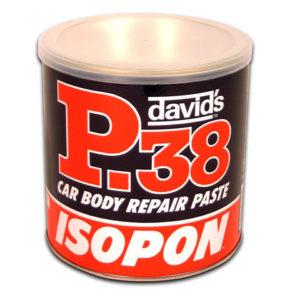 P38 Easy Sanding Body Filler Tin 1.2 Litre
