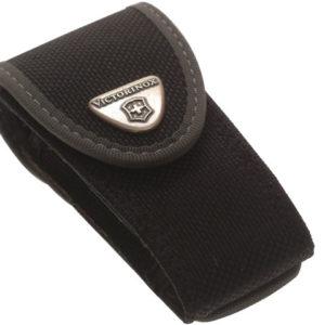 Black Fabric Belt Pouch 2-4 Layer