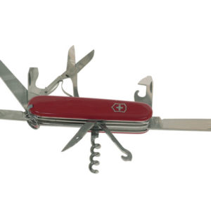 Mountaineer Swiss Army Knife Red 1374300