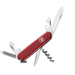 Sportsman Swiss Army Knife Red Blister Pack
