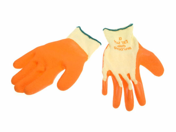 Premium Builder's Grip Gloves - Large/Extra Large