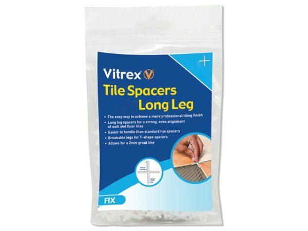 Long Leg Spacer 2mm Pack of 1500