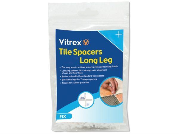 Long Leg Spacer 2mm Pack of 2000