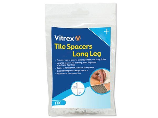 Long Leg Spacer 5mm Pack of 1000