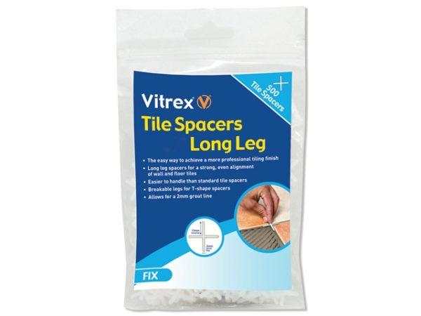 Long Leg Spacer 5mm Pack of 500