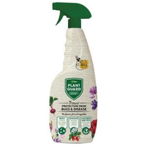Organic Plant Guard Spray Bottle 750ml