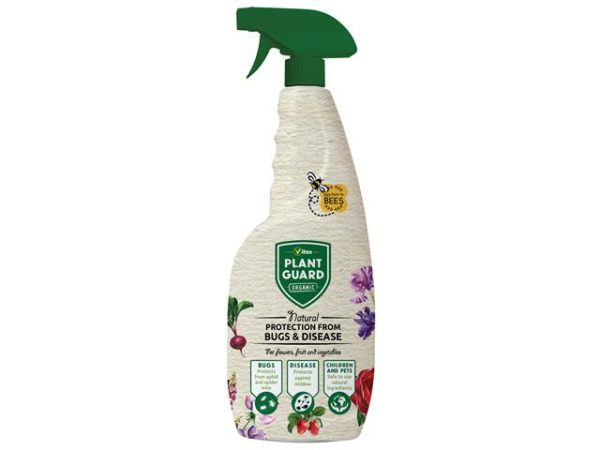 Organic Plant Guard Spray Bottle 750ml