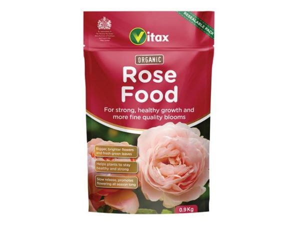 Organic Rose Food 0.9kg Pouch
