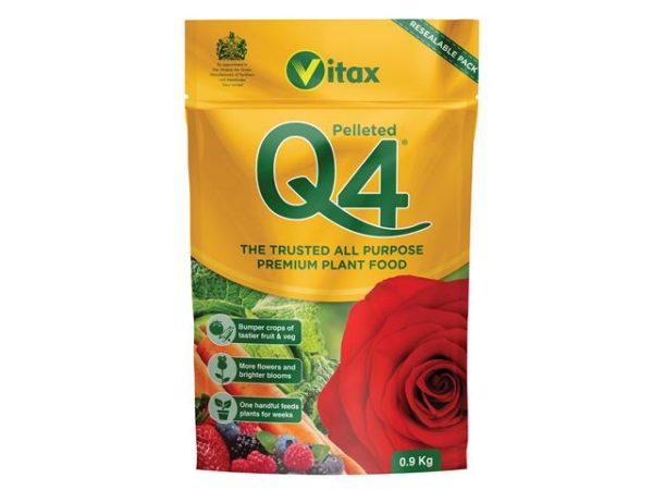 Q4 Premier All Purpose Fertiliser 0.9kg Pouch