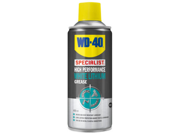 WD-40® Specialist White Lithium Grease Aerosol 400ml