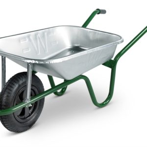 85L Galvanised Heavy-Duty Builders Wheelbarrow