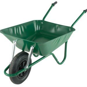 85L Green Easi-Load Builders Wheelbarrow