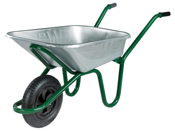 90L Galvanised Heavy-Duty Endurance Wheelbarrow