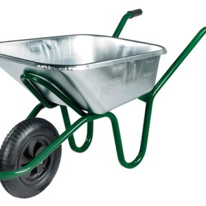 120L Galvanised Invincible Wheelbarrow