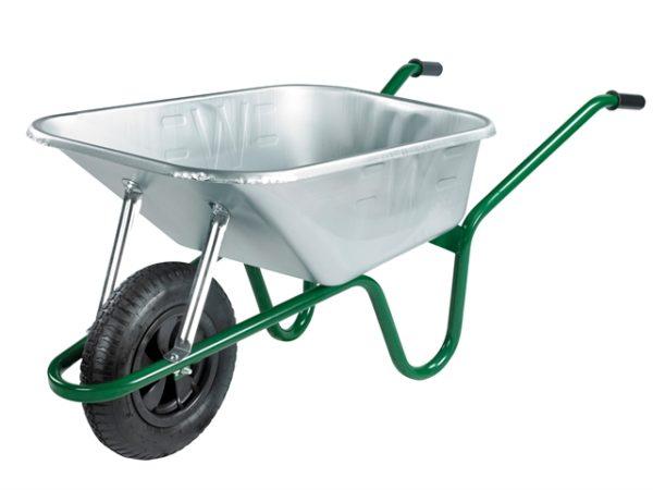 120L Galvanised Professional Wheelbarrow