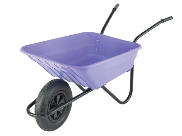90L Lilac Polypropylene Wheelbarrows