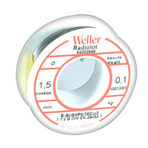 EL60/40-25 Electronic Solder Resin Core 25g
