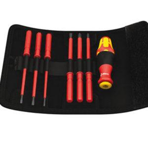 Kraftform VDE Kompakt Interchangeable Screwdriver Set of 7 SL/PH