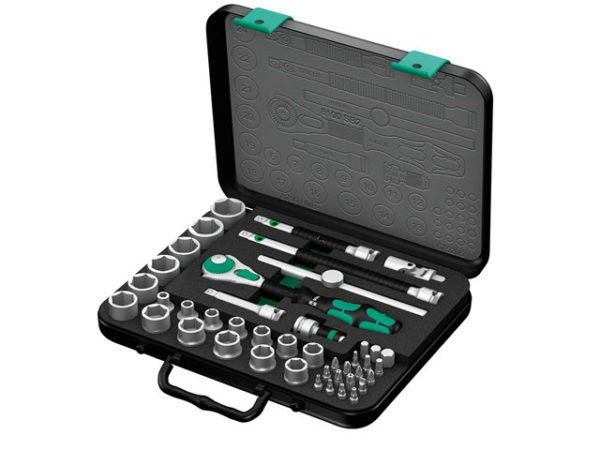Zyklop Socket Set of 43 Top 3/8in Drive