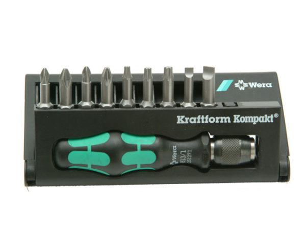 Kraftform Kompakt 10 Screwdriver Bit Set