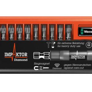 Bit-Check 10 Impaktor 3 Pozi / Torx Set of 10