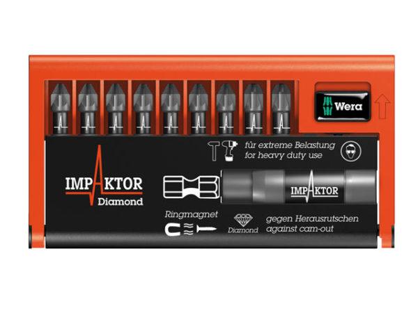 Bit-Check 10 Impaktor 1 Pozi Set of 10