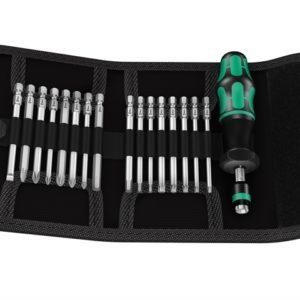Kraftform Kompakt 60 Torque Screwdriver Set of 17 1.2-3.0Nm