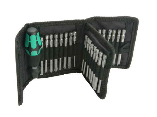 Kraftform Kompakt 62 Screwdriver Bit Holding Set