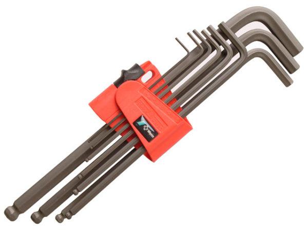 950/9 Hex-Plus BlackLaser L-Key Set of 9 Metric (1.5-10mm)