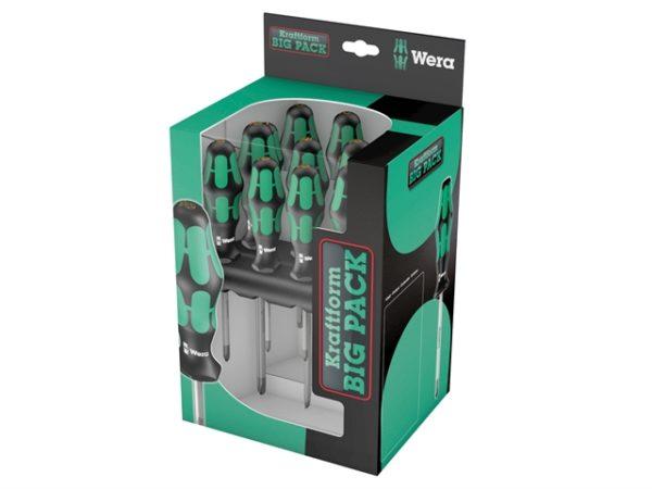 Kraftform Bigpack 300 Lasertip Screwdriver Set
