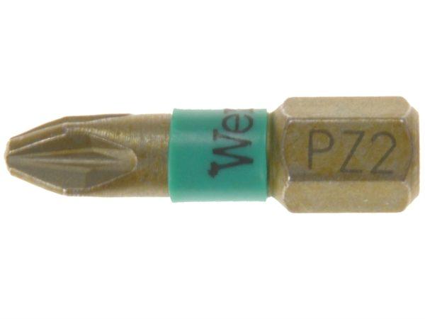 855/1 BTH BiTorsion Pozidriv PZ2 Insert Bit Extra Hard 25mm Pack 10