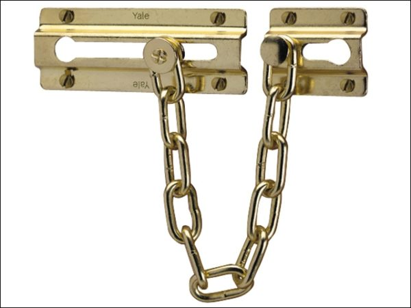 P1037 Door Chain Chrome Finish