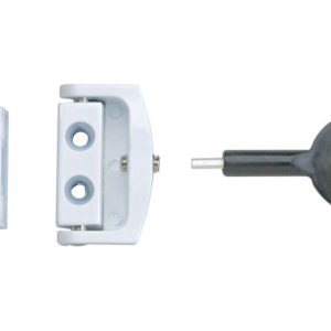 P113 Toggle Window Locks White Pack of 2