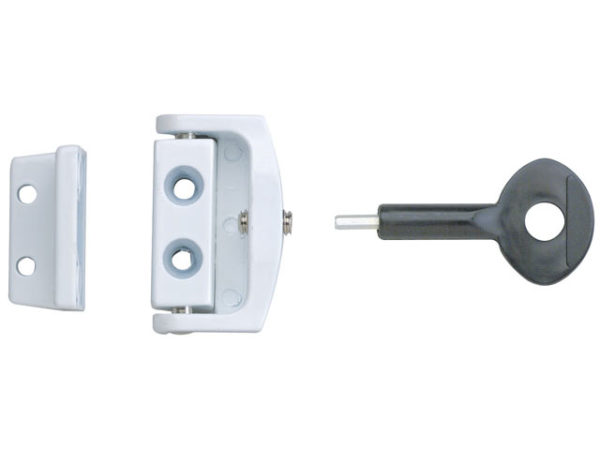 P113 Toggle Window Locks White Pack of 2