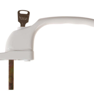 PVCu Window Handle White Finish